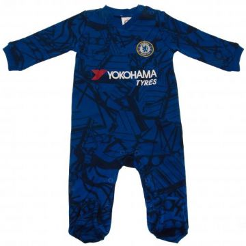 Chelsea FC Baby Sleepsuit CM 0-3 Months